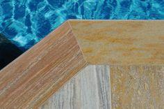 Flooring and cover in BRAZILIAN YELLOW QUARZITE //  Surface: natural plane // Valsecchi SA