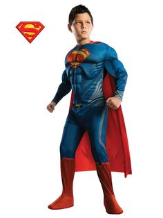 Man of Steel Toddler Costume | Wholesale Superman Costumes for Infants & Toddlers