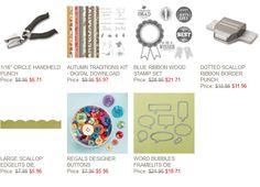 Stampin' Up! Weekly Deals October 28 through November 3, 2014 : KreatesKards