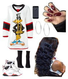 """""""#162:stylin' & profilin'"""" by tyyanniharris ❤ liked on Polyvore featuring Moschino, NIKE, Charlotte Russe and Michael Kors"""