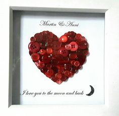 Hey, I found this really awesome Etsy listing at https://www.etsy.com/uk/listing/482988577/friendship-button-art-frame-valentines