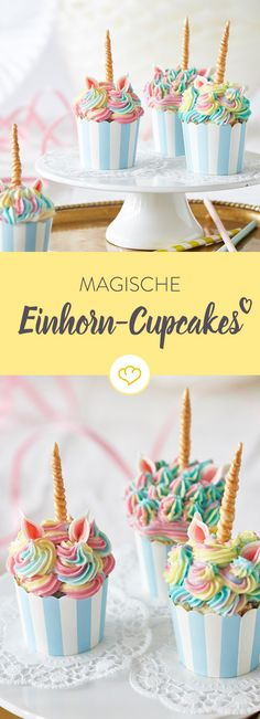 Simply make magical unicorn cupcakes yourself Watch out: These little unicorn cupcakes run the risk of stealing the show from the birthday child! Almost too good to bite into … Magische Einhorn-Cupcakes einfach selber machen 32 Source by springlanede Pumpkin Shaped Cake, Round Birthday Cakes, Shaped Cake Pans, Buckwheat Cake, Valentines Day Cakes, Savoury Cake, Mini Cakes, Cupcake Recipes, Drink Recipes