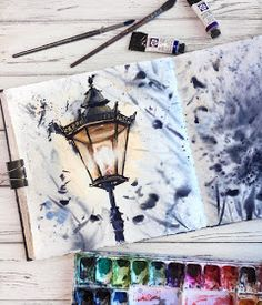 Watercolor art by painting, dra… Aquarellkunst durch Malerei, Zeichnung, Kunst – The post Aquarellkunst durch Malerei, … appeared first on Frisuren Tips - People Drawing Illustration Inspiration, Art Inspiration Drawing, Art Et Illustration, Art Inspo, Art Illustrations, Painting & Drawing, Watercolor Paintings, Watercolor Drawing, Watercolors