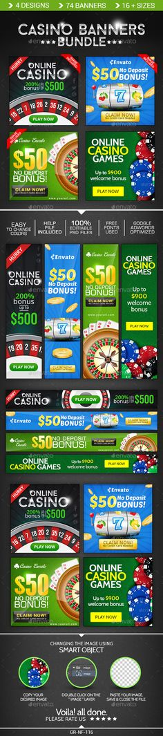Casino Banner Design Bundle - 4 Sets Template PSD | Buy and Download: http://graphicriver.net/item/casino-banner-design-bundle-4-sets/8998050?WT.ac=category_thumb&WT.z_author=doto&ref=ksioks