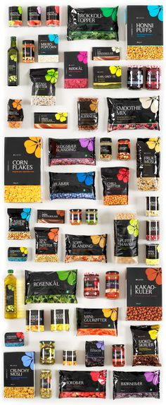 с кроликами Even though they offer a variety of goods, Bunnpris's branding and packaging carries throughout all goods creating a real sense of consistency.Creation Creation may refer to: Branding And Packaging, Black Packaging, Food Branding, Cool Packaging, Food Packaging Design, Packaging Design Inspiration, Product Branding, Coffee Packaging, Bottle Packaging