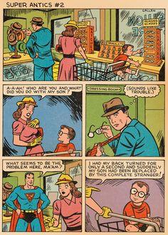 Super Antics #2, part 1 with Superman