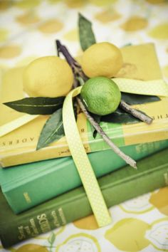 Vintage Lemon & Lime Birthday Party... makes me think of grandma's kitchen. i wish i could have some of that wallpaper. @Greta Dushane and @Heather DeBono