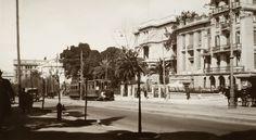 Η λεωφόρος Βασιλίσσης Σοφίας, περίπου 1925.