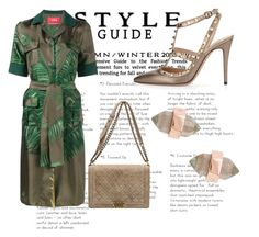 """""""tropical #green #verde #praia"""" by mariajuliaaguiar on Polyvore featuring F.R.S For Restless Sleepers, Chanel, Valentino and Rebecca Minkoff"""