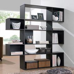 Baxton Studio Lanahan Espresso 5-level Modern Display Shelf (Shelf-Brown), Brown
