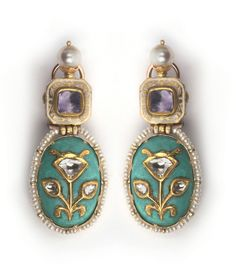 Minakari Earrings from Alpana Gujral Collection