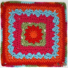Moogly CAL 2018 Block 20 is light, lovely and just a little bit challenging! And it's free courtesy of Andee Graves and Designs! Crochet Motif Patterns, Crochet Blocks, Crochet Squares, Crochet Designs, Square Patterns, Granny Squares, Moogly Crochet, Annie's Crochet, Crochet Afghans