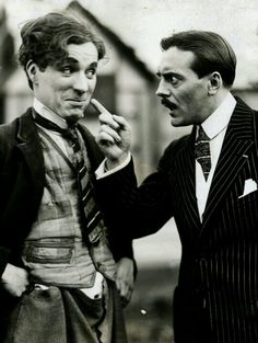 Charlie and fellow French comedian Max Linder :)