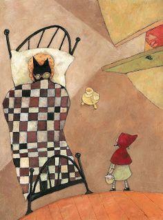 Pinzellades al món: Caputxeta Roja il·lustrada / Caperucita Roja ilustrada / Little Red Riding Hood illustrated / Le Petit Chaperon Roug ill...