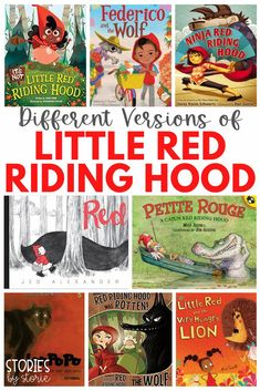 The story of Little Red Riding Hood has been a staple in homes and classrooms for decades. But, did you know that many authors have adapted the story? Some books represent different cultures from around the world, while others just put a humorous twist on the original. Whether you're reading these stories to compare and contrast or just for fun, here are some of my favorite versions of Little Red Riding Hood.