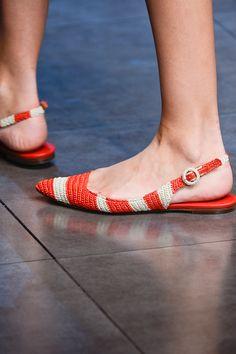 Dolce & Gabbana SS 2013 crochet shoes