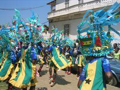 Head to São Tomé and Príncipe around mid-January to mid-February for carnival, a good opportunity to see traditional dances. São Tomé and Príncipe: the Bradt Guide; www.bradtguides.com