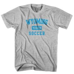 Wyoming Youth Soccer T-shirt