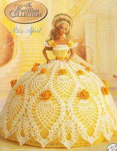 Pattern PDF  Fashion Doll Dress Crochet  Free by samypinto1, €1.50