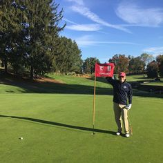 Charlie Davidson birdied the 11th hole at The Union League #Golf Club at Torresdale. His first career birdie, coached by FG.