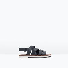 Discover the new ZARA collection online. The latest trends for Woman, Man, Kids and next season's ad campaigns. Kids Sandals, Shoes Sandals, Flats, Leather Sandals Flat, Zara Kids, Boys Shoes, Kids Wear, Boy Outfits, How To Wear