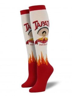 Women's Knee High Socks Tapatio Hot Sauce