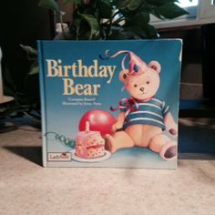 Birthday Bear | Used, Rare, Vintage and Out of Print Books - www.ValiumBlueBooks.com #Books