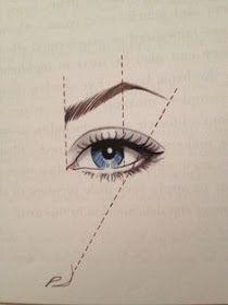مدونة أرسم بالرصاص أرسم بالرصاص تعلم طريقة رسم الحواجب خطوة بخطوة Eyebrows Eye Make Up Cosmetology