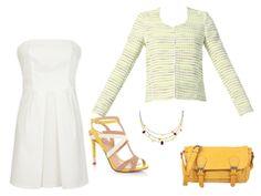 White strapeless dress ! - par frangipane