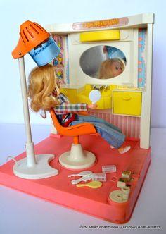 1977 Charminho o Salão de Beleza da Boneca Susi