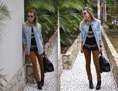 A blogueira Nati Vozza, postou look lindo com a calça skinny onça da Amapô.    Mais detalhes, agora no blog! Duster Coat, Skinny, Blog, Jackets, Fashion Now, Fashion Inspiration, Outfits, Style, Down Jackets