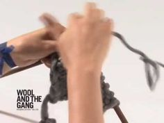 ▶ 04 Buttonhole Knitting Tutorial - Wool and the Gang - YouTube