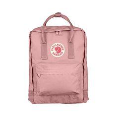 Fjallraven Kanken Backpack (110 CAD) ❤ liked on Polyvore featuring bags, backpacks, backpack, fillers, pink, pink bag, pink backpack, waterproof backpack, lightweight rucksack and vinyl backpack