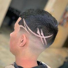 Boys Fade Haircut, Fade Haircut Styles, Hair Styles, Hair Tattoo Men, Hair Tattoos, Best Short Haircuts, Haircuts For Men, Haare Tattoo Designs, Hair Designs For Boys