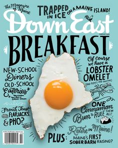 By breaking the grid and all kinds of rules this design is very eye catching and interesting. I love the use of different typefaces and scale to create hierarchy. There appears to be one script, one sans, and on serif. Which all work well together. Very fun and effective magazine cover!