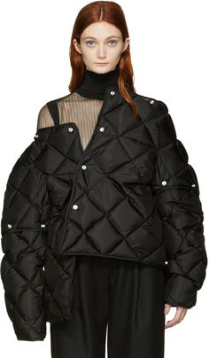 Acne Studios - Black Down Bobbi Jacket