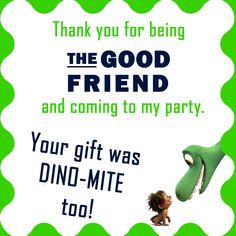 The Good Dinsosaur Label Card, The Good Dinosaur Movie Party,   Dinosaur Place Cards,  Good Dinsoaur Food Tents, Spot & Arlo by GiggleBeanParties on Etsy