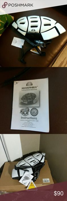 Morpher Helmet Morpher collapsible helmet.  Awesome Christmas Gift.  Never worn. NIB Morpher Helmet Other