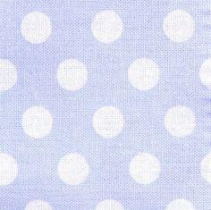 Baumwollstoffe Tupfen / Punkte in zartem #hellblau