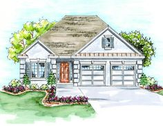 House Plan 402-01388 - Ranch Plan: 1,423 Square Feet, 2 Bedrooms, 2 Bathrooms
