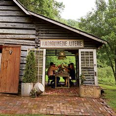 The Dinner Barn in Ellijay, #Georgia was named one of the South's most inviting party spaces by @gardenandgun!