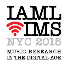 International Association of Music Libraries NYC 2015 (logo for conference)