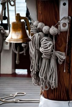 Tall Ship on Board #shipbell