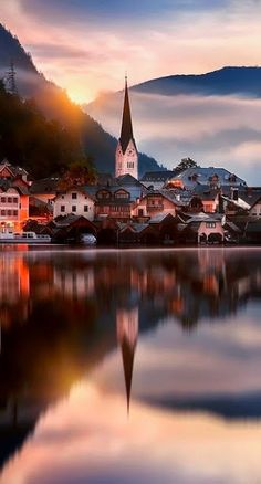 HALLSTATT AUSTRIA. Don't forget when traveling that electronic pickpockets are everywhere. Always stay protected with an Rfid Blocking travel wallet. https://igogeer.com for more information.