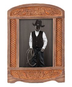 Capture A Bit Of The Wild West In This Rustic Picture Frame