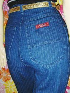 pinstriped zena jeans.  OMG I had these!