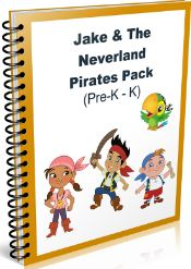 FREE Jake & The Neverland Pirates Preschool Pack! Download your copy now!!