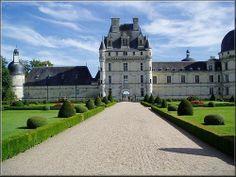Castle of Valençay in centre of France