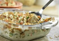 Super Chicken Casserole - This is a great make ahead casserole idea for any day of the week! #recipe