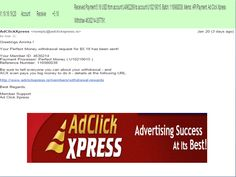 "INCOME JUST BY WATCHING ADS AND POSTING ""I WORK FROM HOME less than 10 minutes and I manage to cover my LOW SALARY INCOME. If you are a PASSIVE INCOME SEEKER, then AdClickXpress (Ad Click Xpress) is the best ONLINE OPPORTUNITY for you  And many more earnings with AdclickXpress like  GET RICH POSTING YOUR PAYOUT PROOFS AND GET REWARDS... For more Details Dial+919153180418   To join Click the given link :- http://www.adclickxpress.is/?r=cpzhzj4ycxh&p=mx"